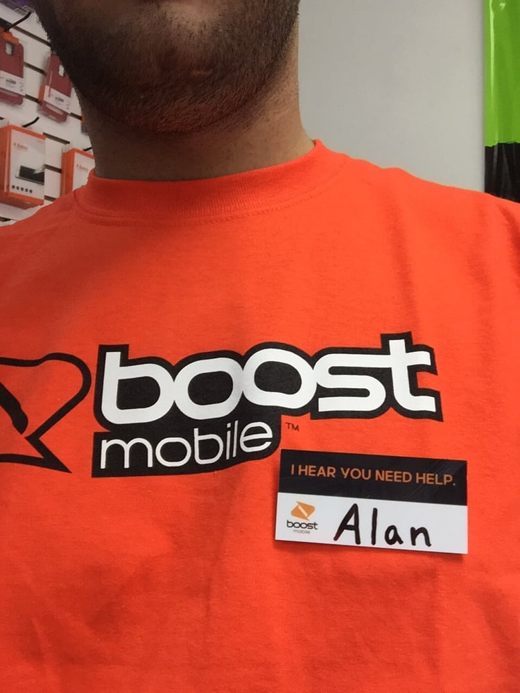 Boost mobile service and activations! Also bill pay! We