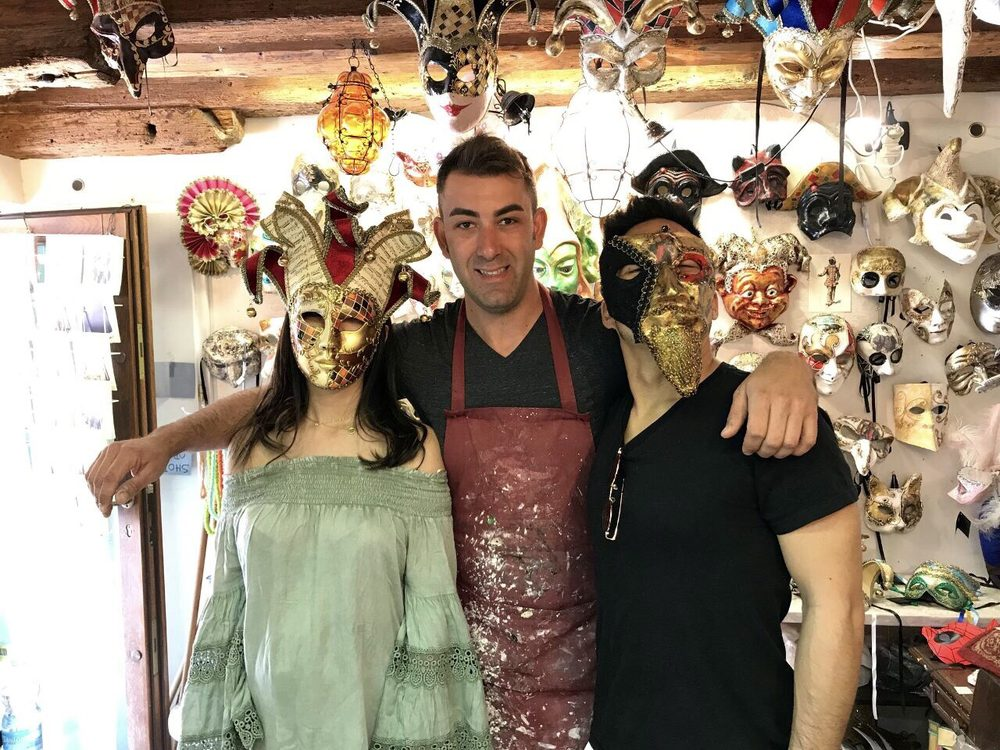 Venice Mask Workshop - Nicolò Galasso