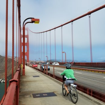 Biking Across Golden Gate Bridge To Sausalito 28 Photos