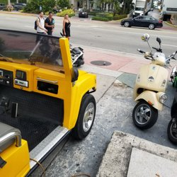 Photo Of Scooters South Beach Miami Fl United States Picking Up