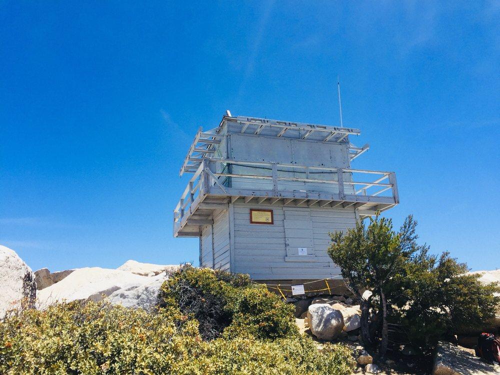 Photo of Tahquitz Peak via Devil's Slide Trail - Idyllwild-Pine Cove, CA, United States. Fire watch!