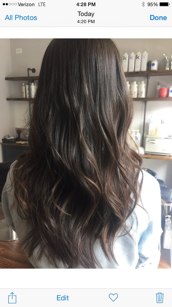 Cool Brown Highlights On Dark Brown Straight Hair Yelp