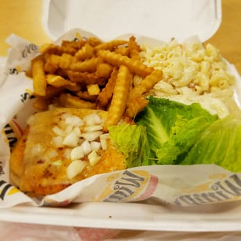 Wimpys burger basket order food online 42 photos 40 for Best fish fry buffalo ny
