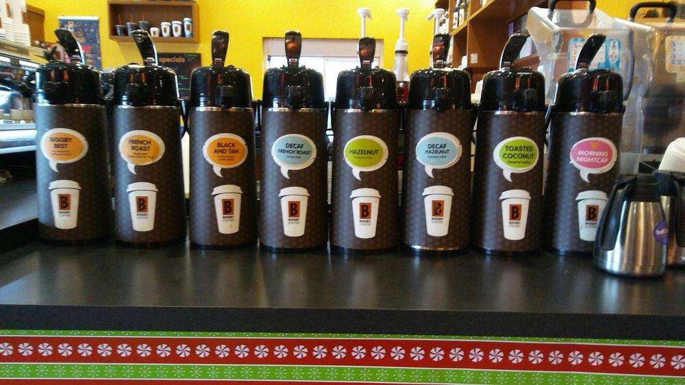 BIGGBY COFFEE: 1231 West Main St, Fremont, MI