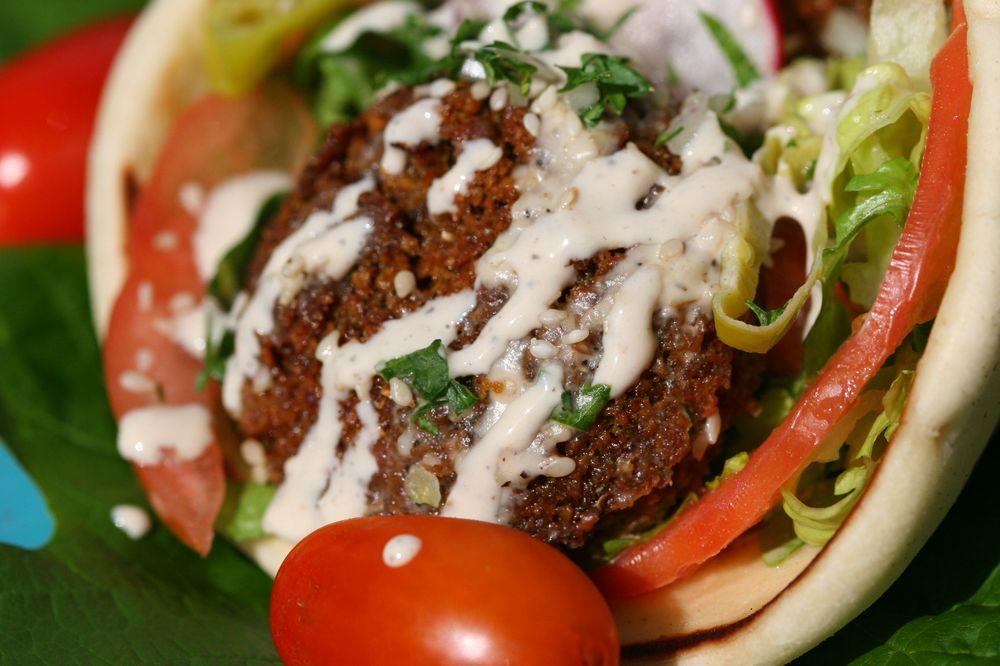 Aybla Grill Food Cart Portland: 950 SW Alder, Portland, OR