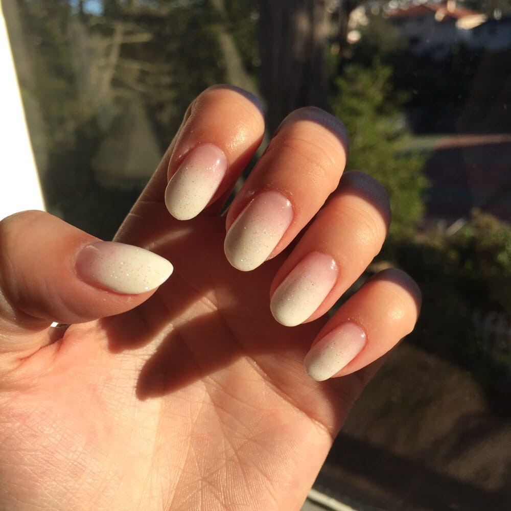 French fade gel mani done by Lynn! It\'s perfection - Yelp