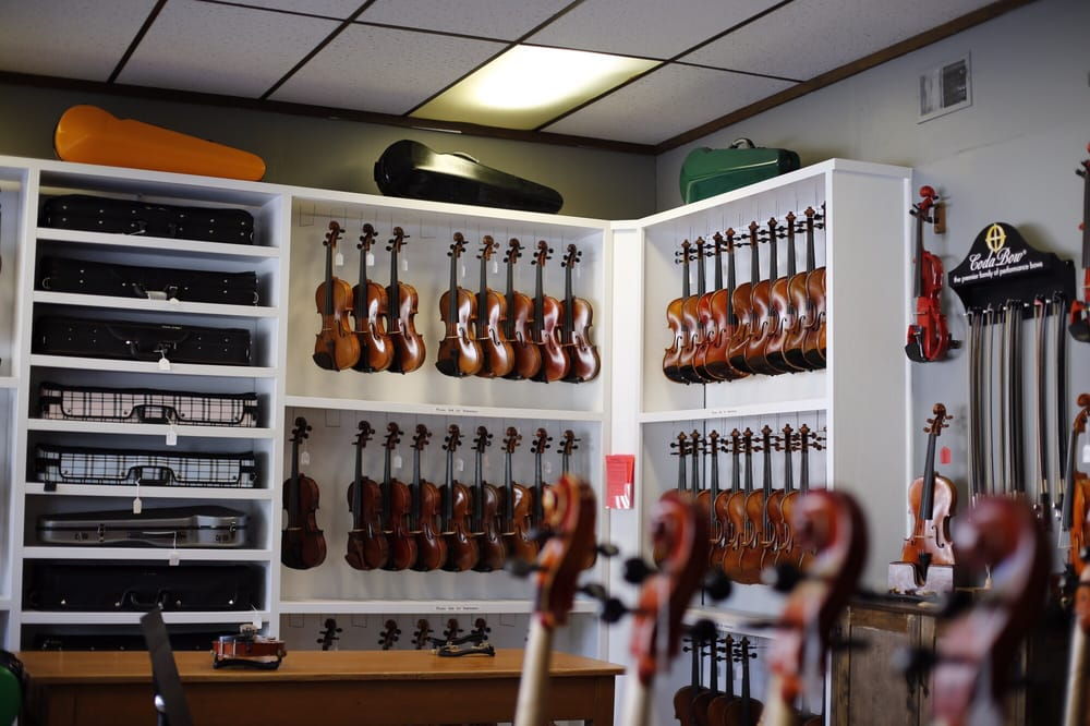 The Violin Shop in Lincoln: 1641 S 17th St, Lincoln, NE