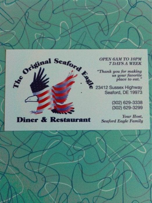 Photo of Seaford Eagle Diner: Seaford, DE