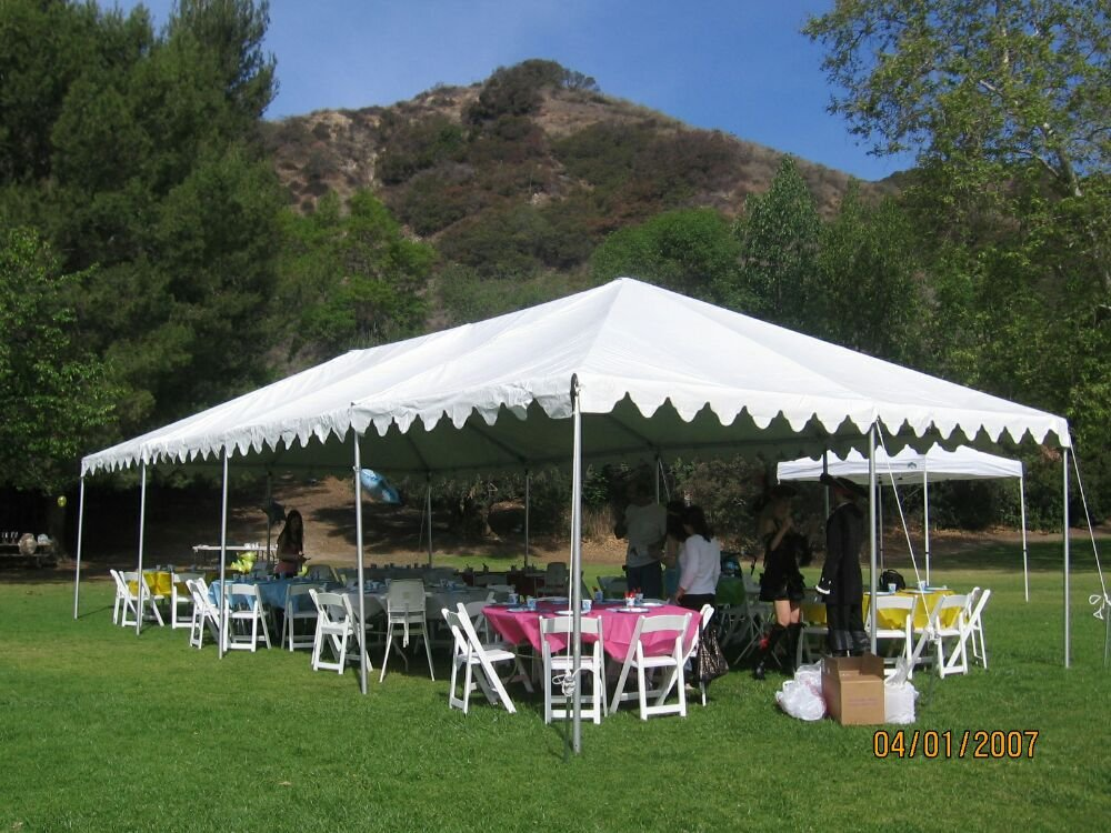 13 photos for Numero Uno Party Rentals u0026 Supplies & 20u0027×40u0027 Tent with White wooden padded Chairs - Yelp