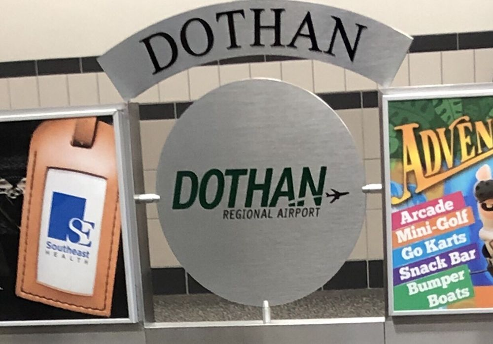 Dothan Regional Airport - DHN: 800 Airport Dr, Dothan, AL