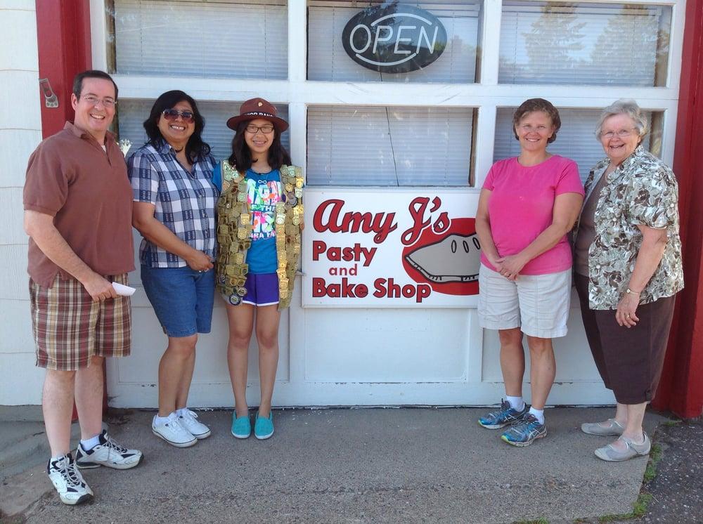 Amy J's Pasty: 1000 N Lincoln Dr, Hancock, MI