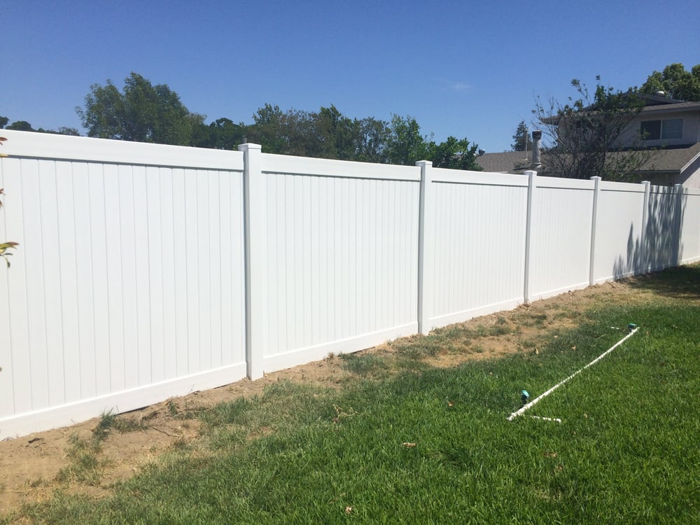 Privacy Vinyl Fence Yelp