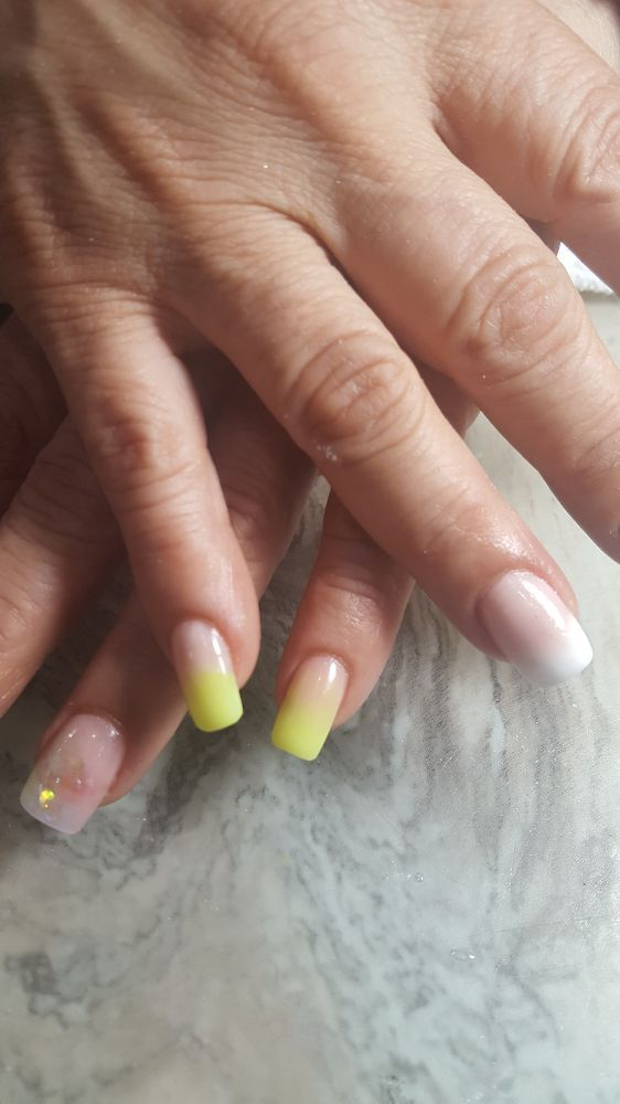 Ombre nails for vacation - Yelp