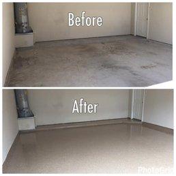 Pressure wash garage floor gurus floor for How to wash concrete garage floor