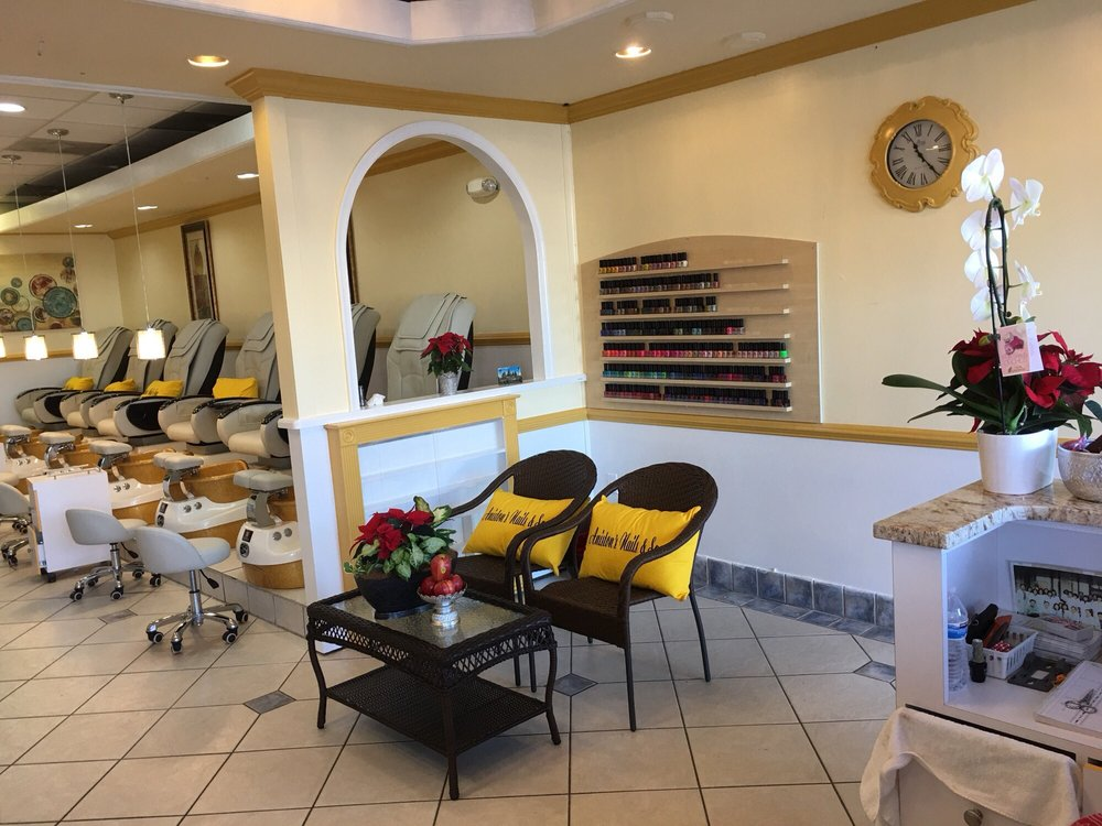 Aniston's Nails Spa: 45665 West Church Rd, Sterling, VA