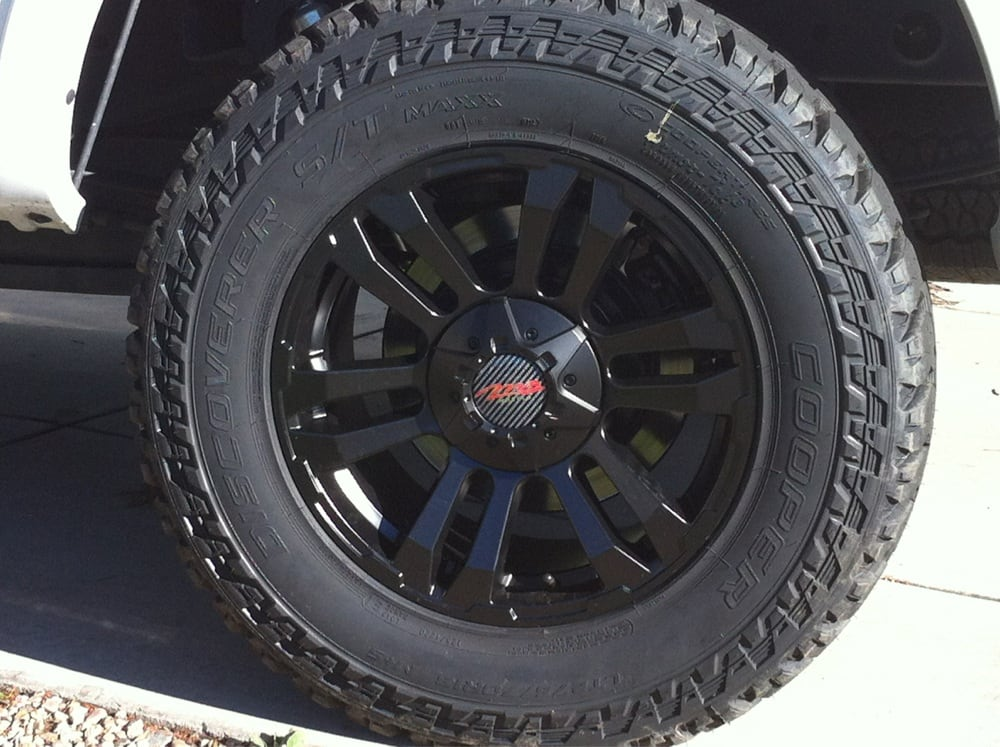 Cooper Discoverer S/T Maxx looking sharp! - Yelp