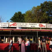 Jumbo Lobster Photo Of Tamarack Restaurant Drive In Laconia Nh United States