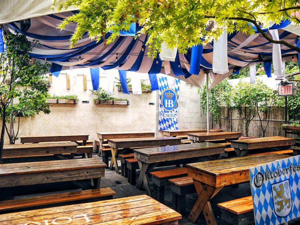 Loreley Beer Garden: 7 Rivington St, New York, NY