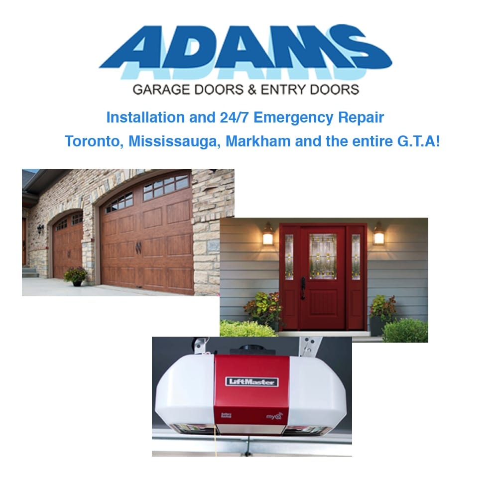 Adams Door Systems   Garage Door Services   5030 Maingate Drive, Mississauga,  ON   Phone Number   Yelp