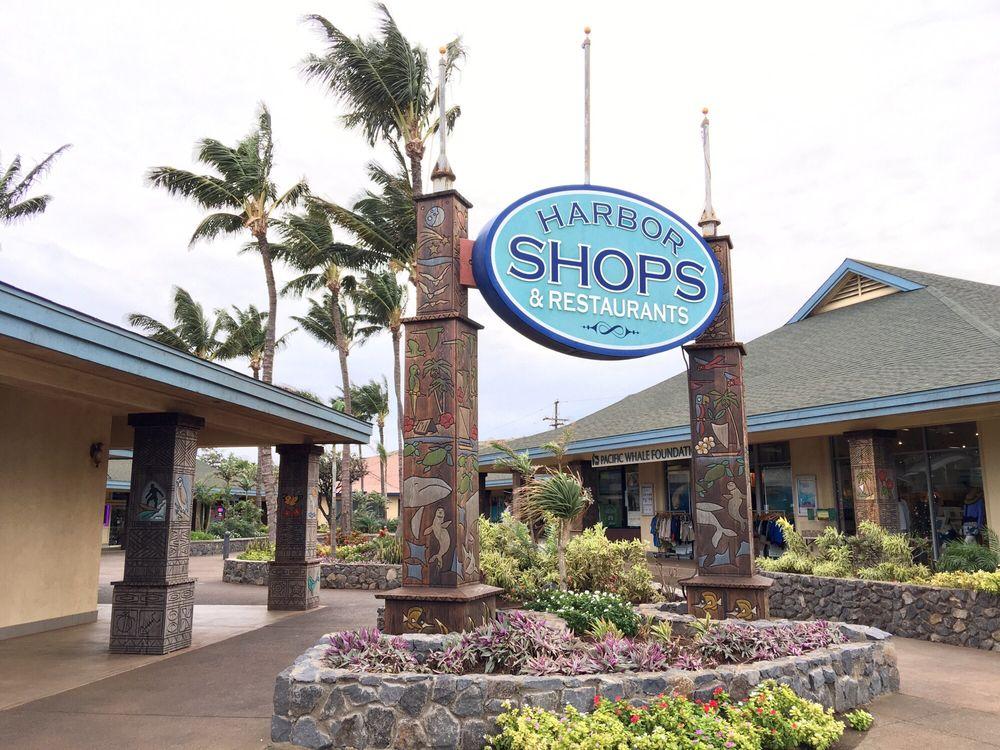 Maalaea Harbor Shops: 300 Maalaea Rd, Wailuku, HI