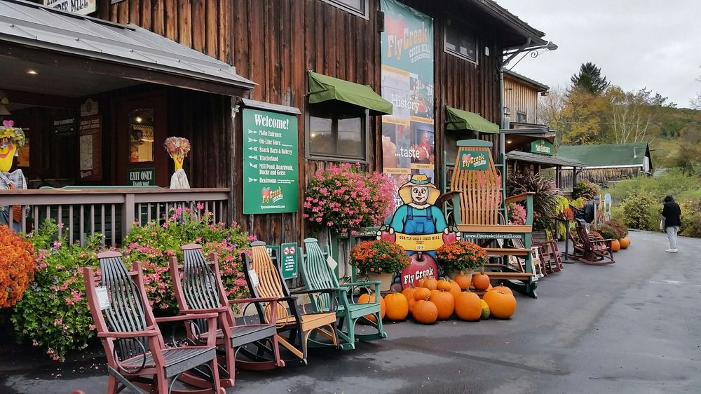 Fly Creek Cider Mill & Orchard: 288 Goose St, Fly Creek, NY