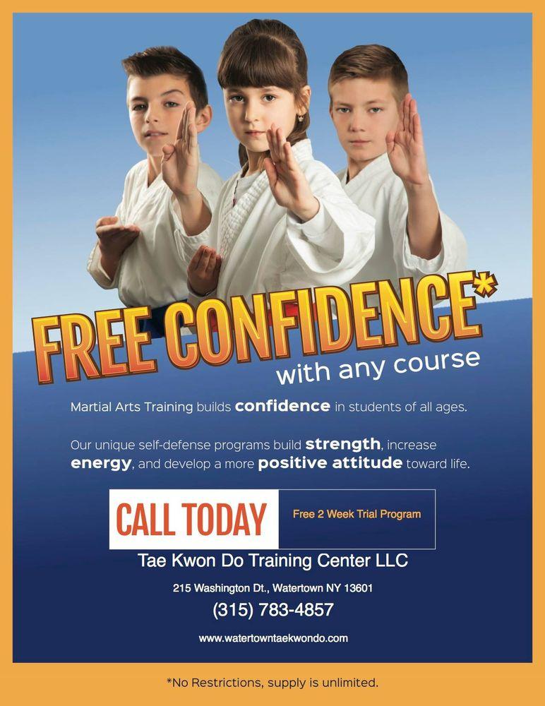 Tae Kwon Do Training Center: 215 Washington St, Watertown, NY