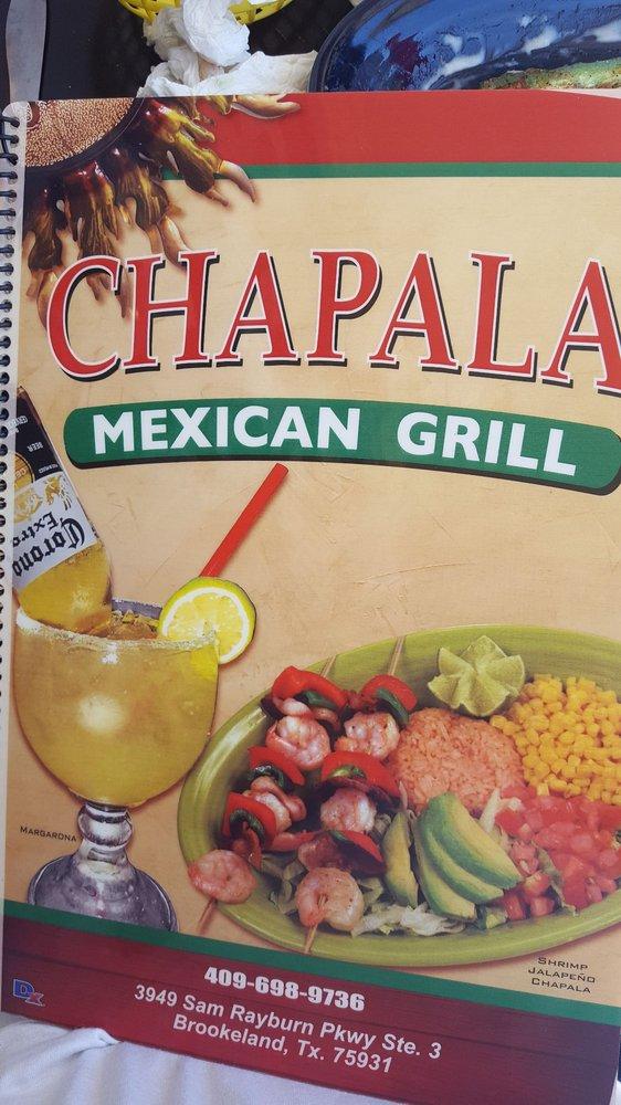 Chapala Mexican Grill: 3949 Sam Rayburn Pkwy, Brookeland, TX