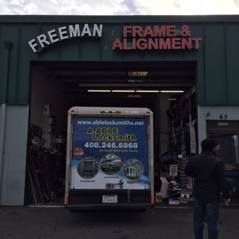 photo of freeman frame alignment san jose ca united states