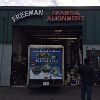 photo of freeman frame alignment san jose ca united states