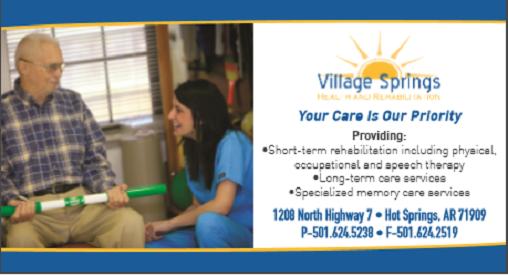 Village Springs Health and Rehabilitation: 1208 N Hwy 7, Hot Springs Village, AR