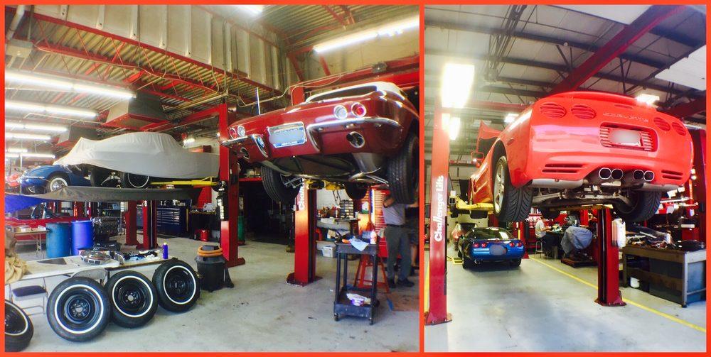 Tony's Corvette Shop - 7500 Rickenbacker Dr, Gaithersburg, MD - 2019