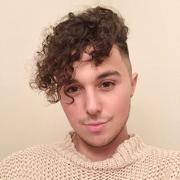 Men S Perm And Mid Fade Yelp