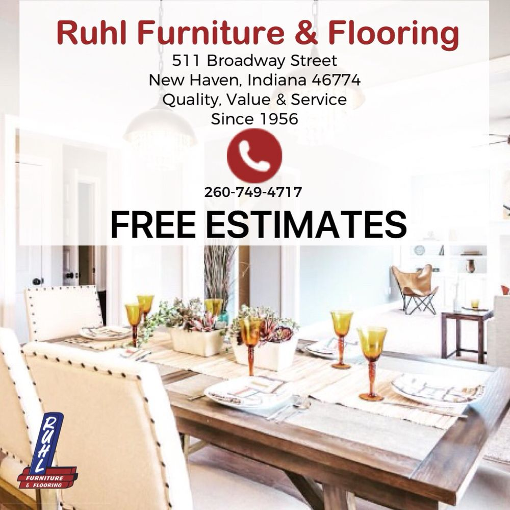 Ruhl Furniture & Flooring: 511 Broadway St, New Haven, IN