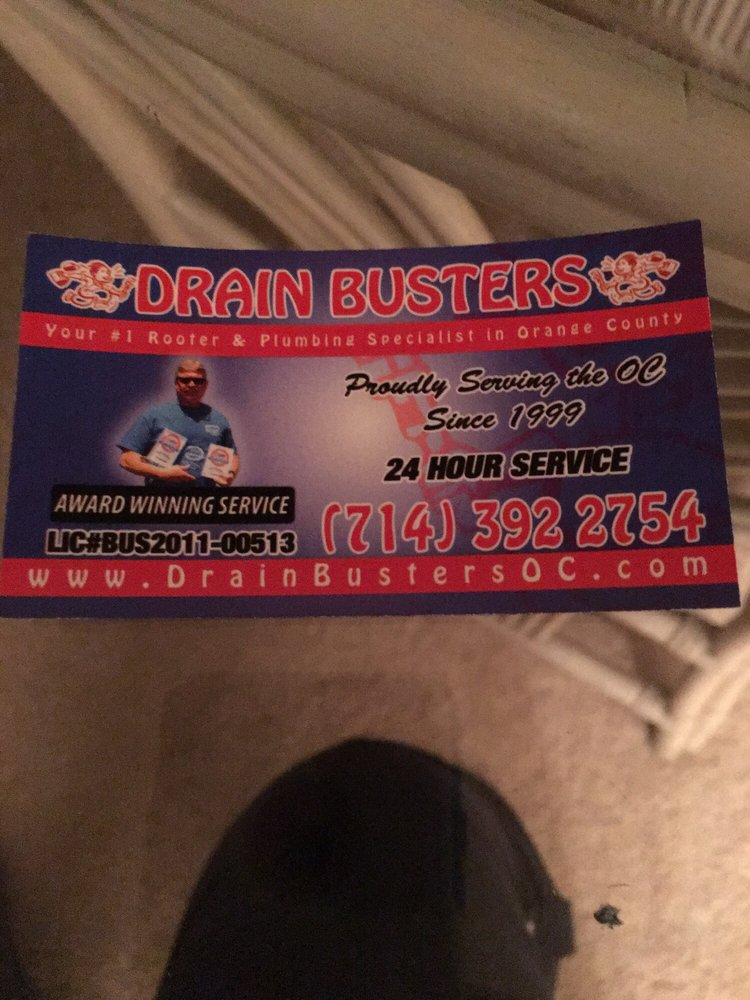 Drain Busters Rooter & Plumbing Service