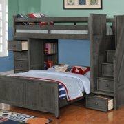 Sideways Bookcase Bed Photo Of Kidz Bedz   Arlington Heights, IL, United  States. New Grey Stair