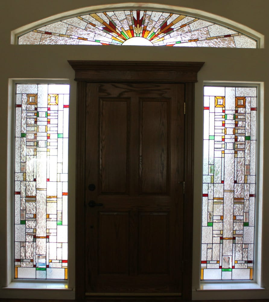 Custom Stained Glass Entry Way Yelp