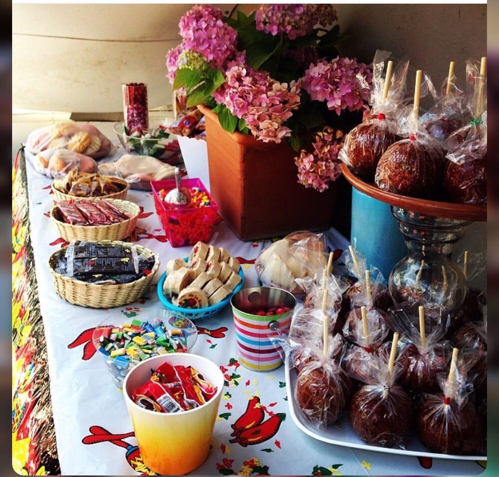 Candy Table For Mexican Theme Party With And