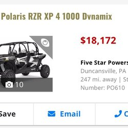 Five Star Powersports - Motorcycle Dealers - 499 Pa-764