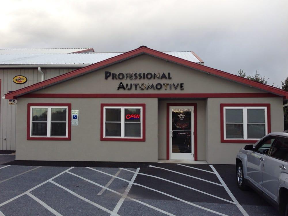 Professional Automotive Services: 7673D Lancaster Ave, Myerstown, PA