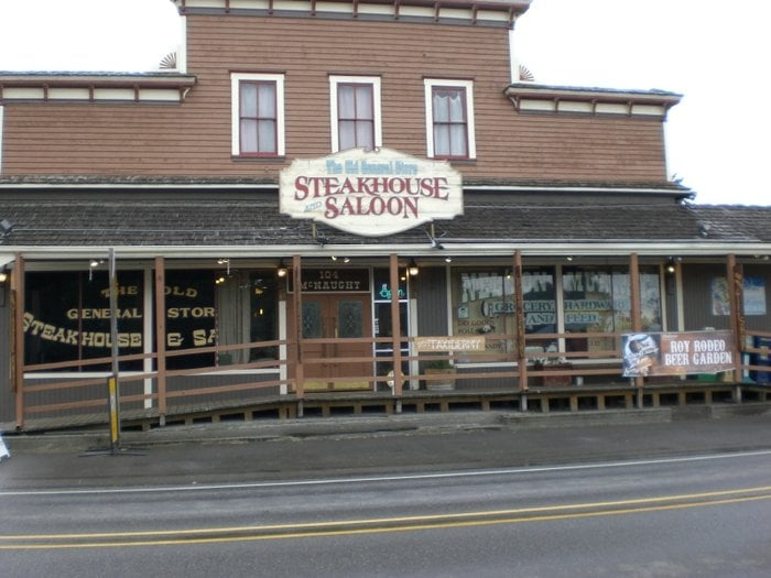 Old General Store Steak House & Saloon: 104 McNaught St, Roy, WA
