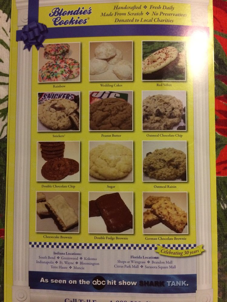 Blondie's Cookies: 3501 N Granville Ave, Muncie, IN