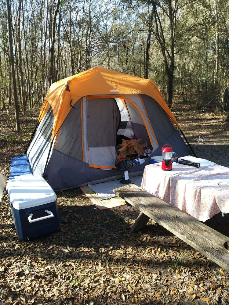 Suwannee River Hideaway Campground: 1218 SE Hwy 346, Old Town, FL