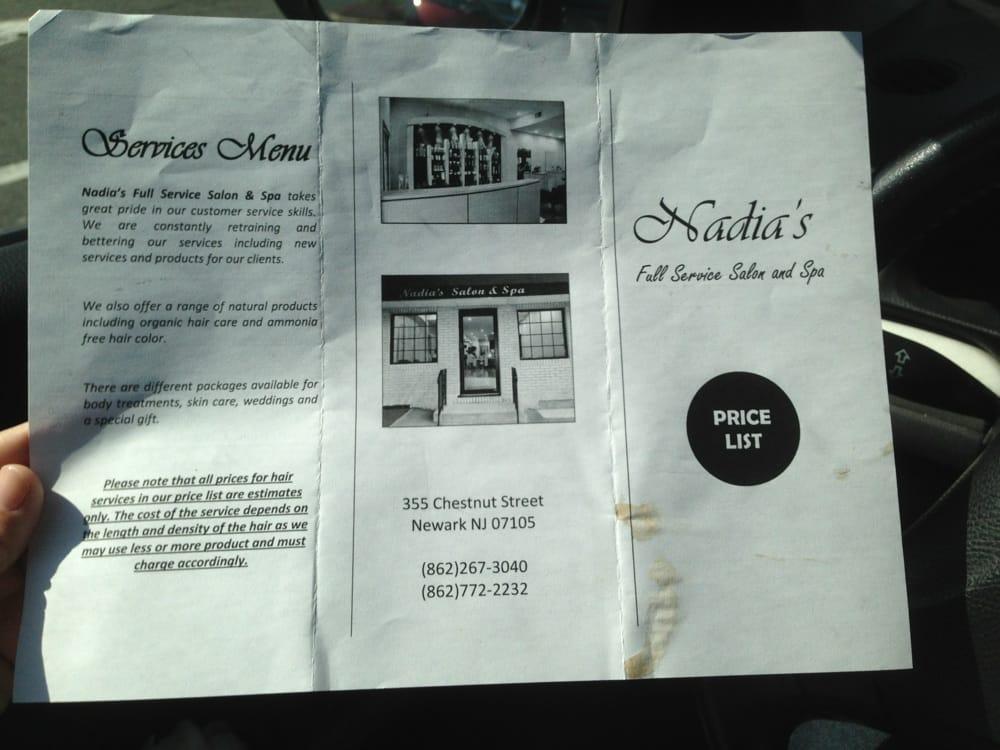 Nadia Salon And Spa Newark Nj