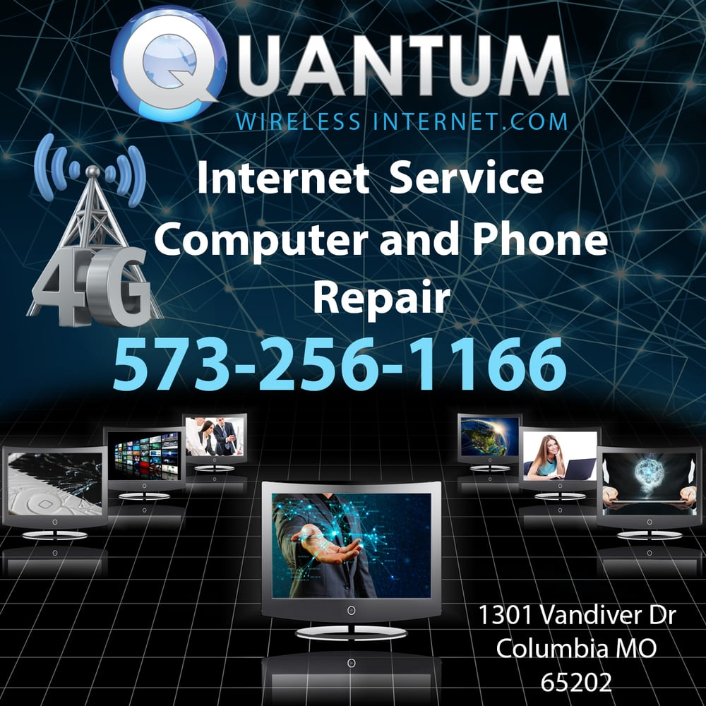 Quantum Wireless Internet: 1301 Vandiver Dr, Columbia, MO