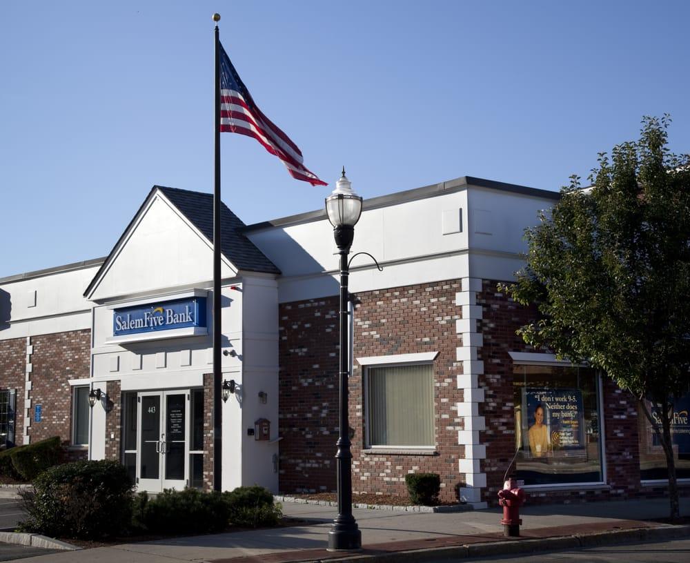 Salem Five Bank Store locator - store list, hours ...