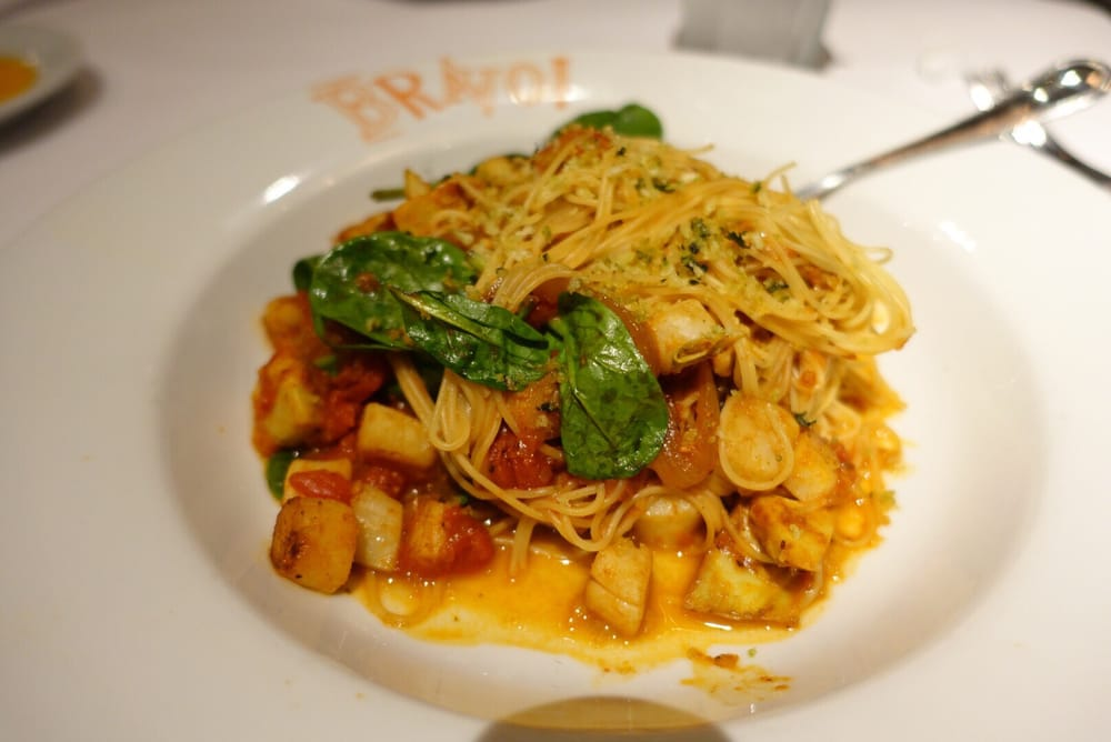 Angel Hair Pasta With Shrimp And Scallops Yelp