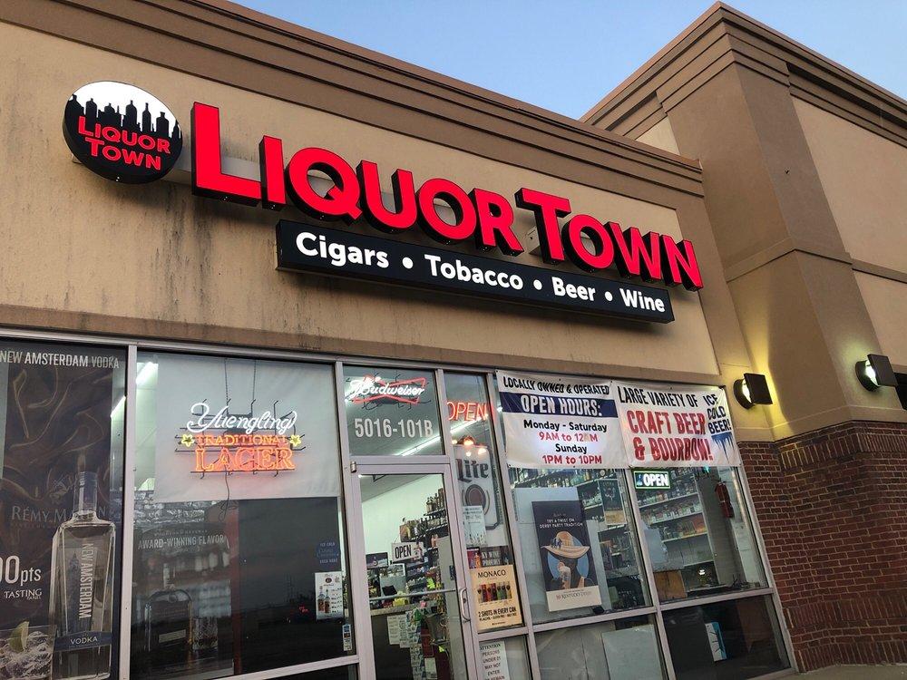 Liquor Town: 5016 Mud Ln, Louisville, KY