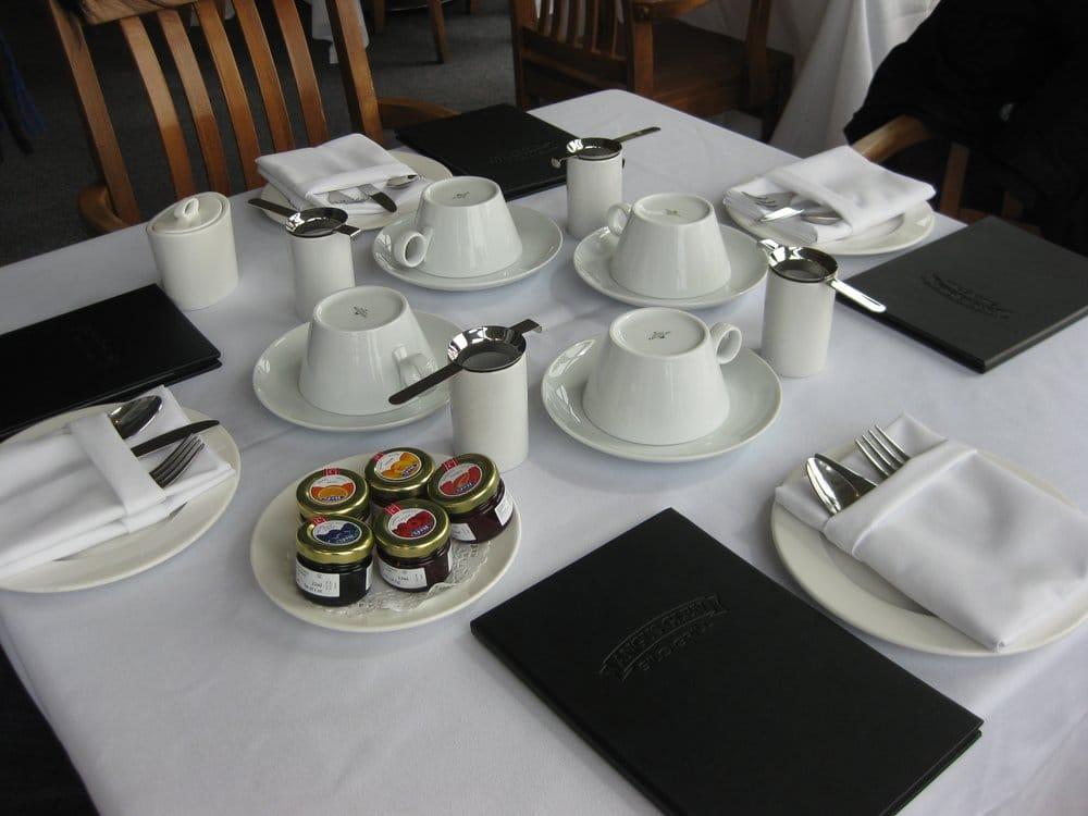 Room Service Tea Tray Set Up