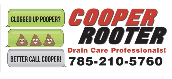 Cooper Rooter drain care professionals: Junction City, KS