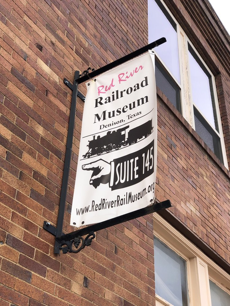 Red River Railroad Museum: 101 E Main St, Denison, TX
